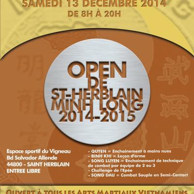 Affiche saint herblain open